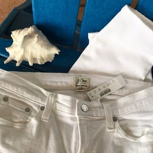 J. Crew Toothpick in size 12 NWT White!